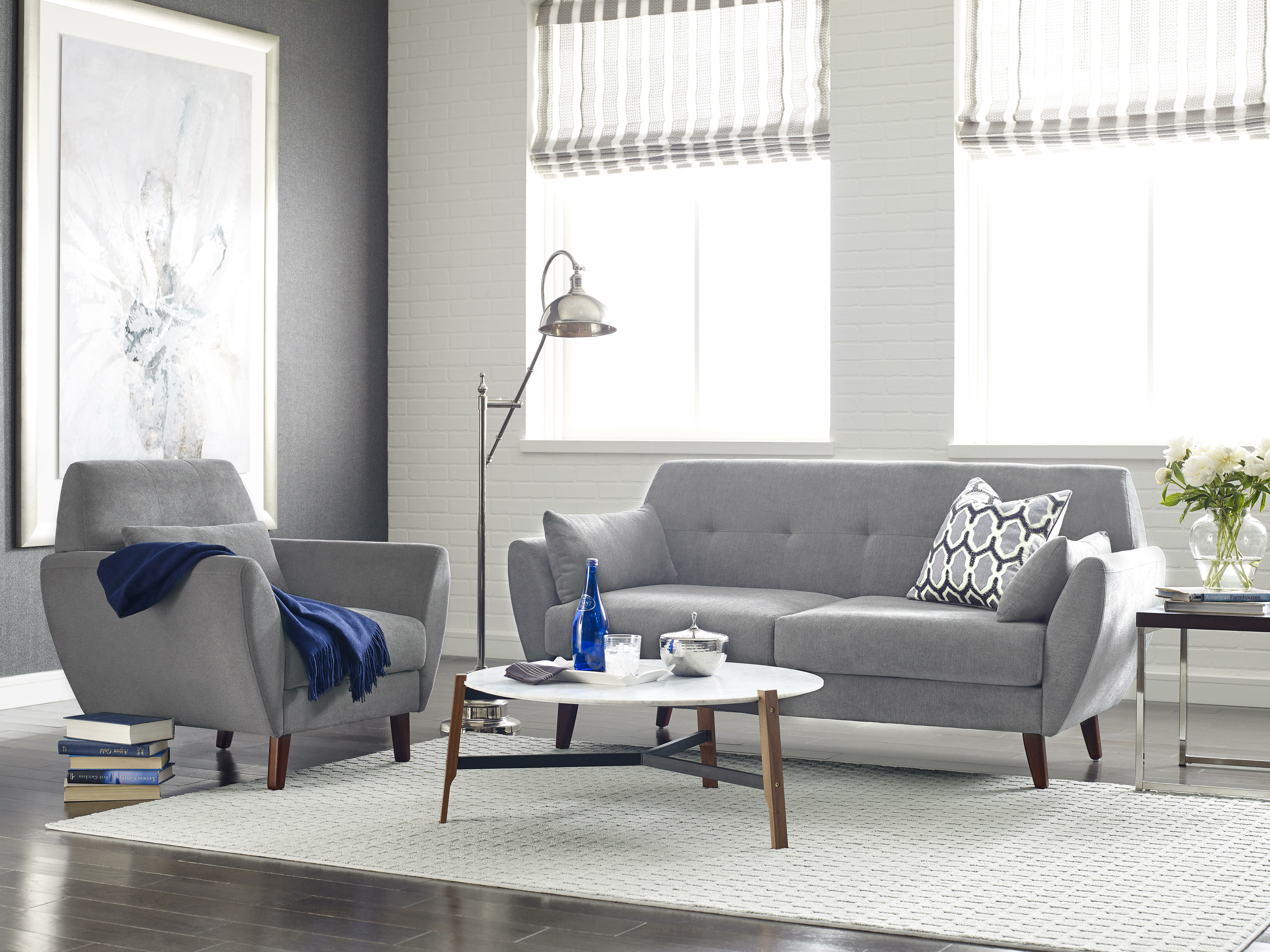 Serta at Home Artesia Configurable Living Room Set & Reviews | Wayfair