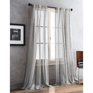 Urban Safari II Animal Print Sheer Curtain Panels Set Of 2