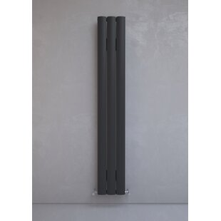 Alulite Vertical Oval Panel Radiator by Hazelwood Home