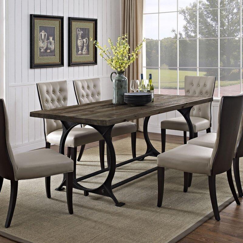 Long Narrow Dining Table | Wayfair