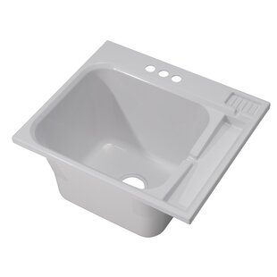 25  x 22  Drop-In Laundry Sink  sc 1 st  Wayfair & Laundry Sink Cabinet | Wayfair