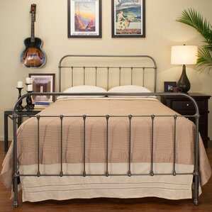 Glenbrook Panel Bed by Benicia Foundry and Iron Works