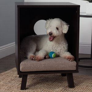 End Table Hooded Dog Bed