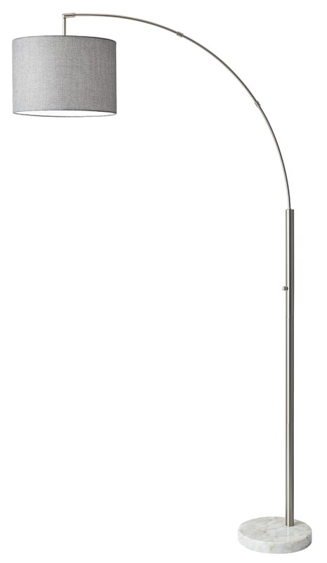 Bowery 735 arched floor lamp reviews allmodern bowery 735 arched floor lamp mozeypictures Choice Image
