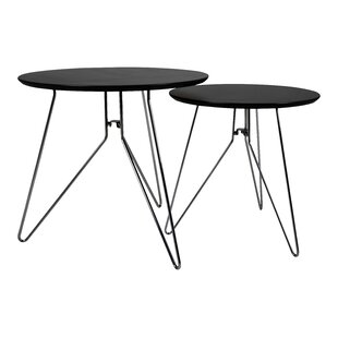 Champlon 2 Piece Nest Of Tables (Set Of 2) By Orren Ellis | Cheap Price