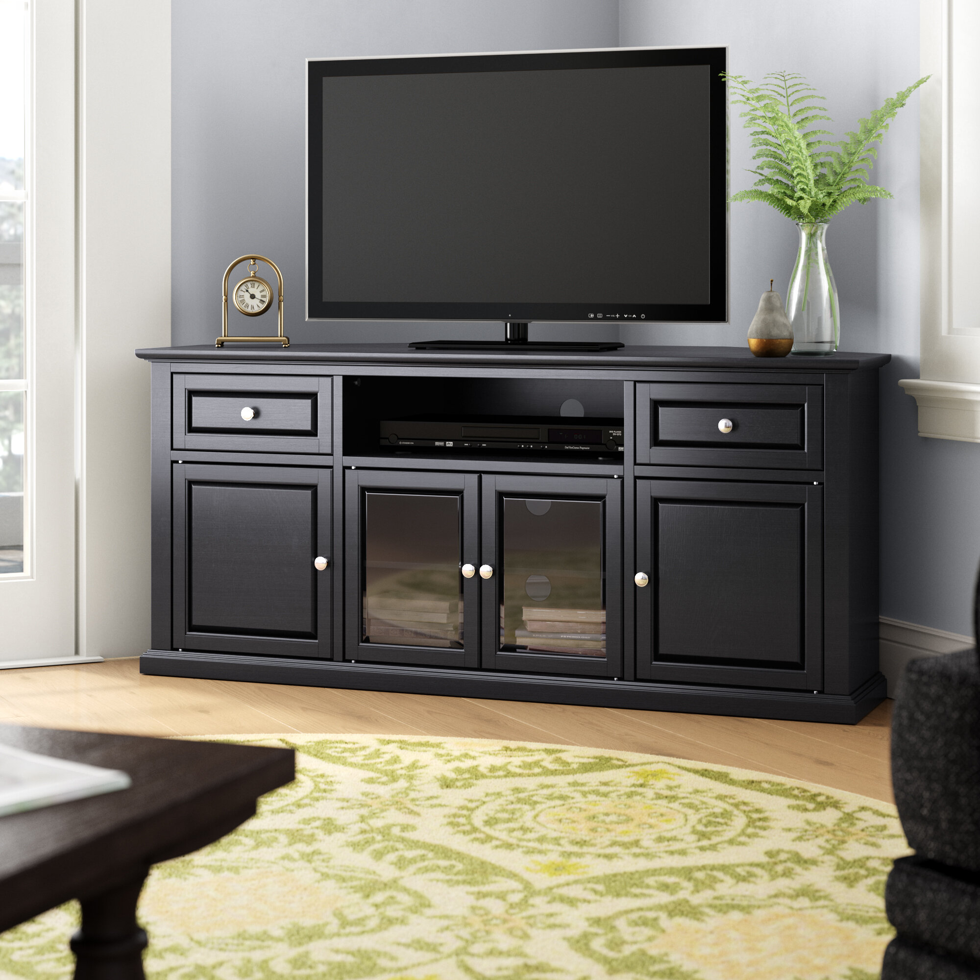 Darby Home Co Dye Tv Stand For Tvs Up To 60 Reviews Wayfair