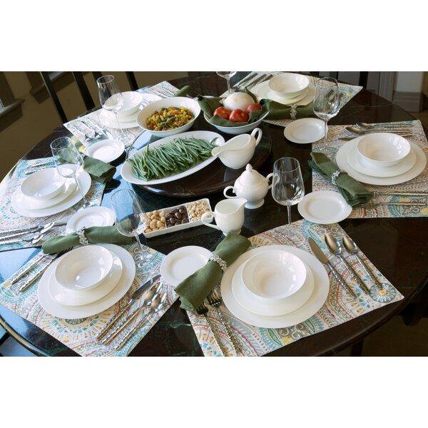 Maret Bone China 32 Piece Dinnerware Set Service for 6 u0026 Reviews | Birch Lane  sc 1 st  Birch Lane & Maret Bone China 32 Piece Dinnerware Set Service for 6 u0026 Reviews ...