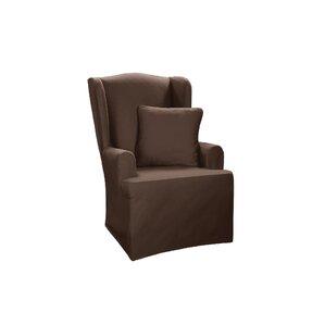 T Cushion Wingback Slipcover