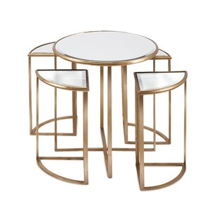 Giulio 5 Piece Nesting Tables by Willa Arlo Interiors
