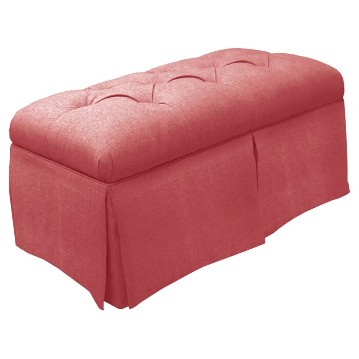 Skyline Furniture Tufted Fabric Storage Bench & Reviews | Wayfair