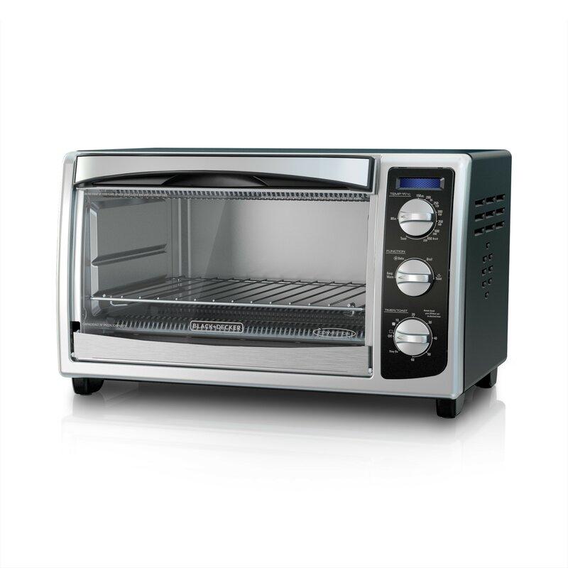 Black + Decker Countertop Convection Toaster Oven