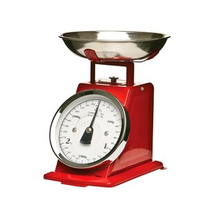 Red Retro Kitchen Scale Salter Get Home Inteiror House Design