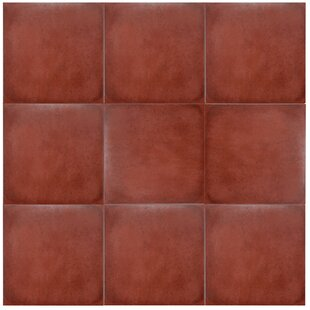 Symbals 14 13 X Porcelain Tile In Red
