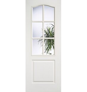 Glazed Mdf Slab Internal Door