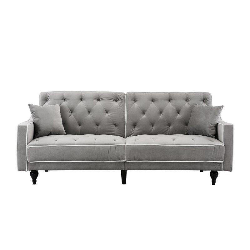 Hypes Mid Century Convertible Sofa
