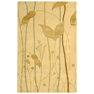 Rodeo Drive Ivory/Gold Area Rug
