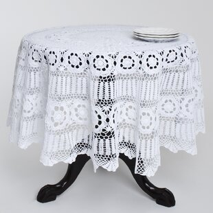 Charmant Cavaillon Crochet Lace Round Table Cloth