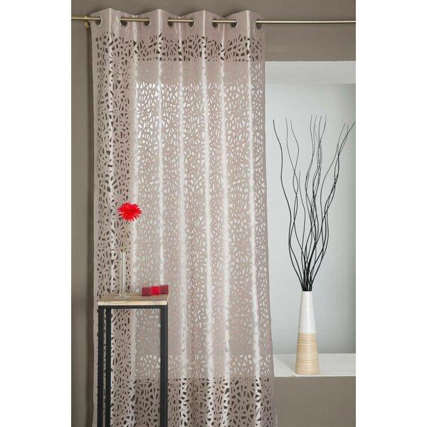 castleton home vorhang mit sen 1 st ck blickdicht bewertungen. Black Bedroom Furniture Sets. Home Design Ideas