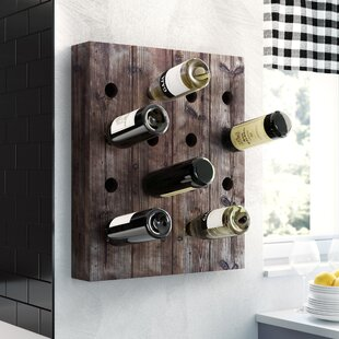 Lavern 16 Bottle Hanging Wine Rack