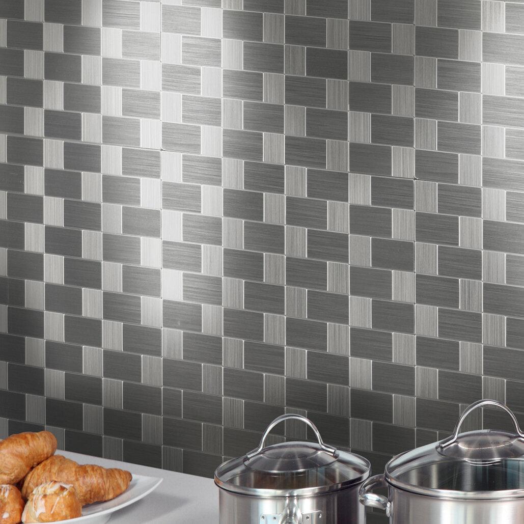L And Stick Mosaic Tile Design Ideas