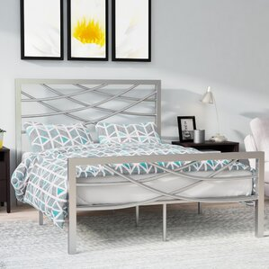Castile Metal Platform Bed by Zipcode Design