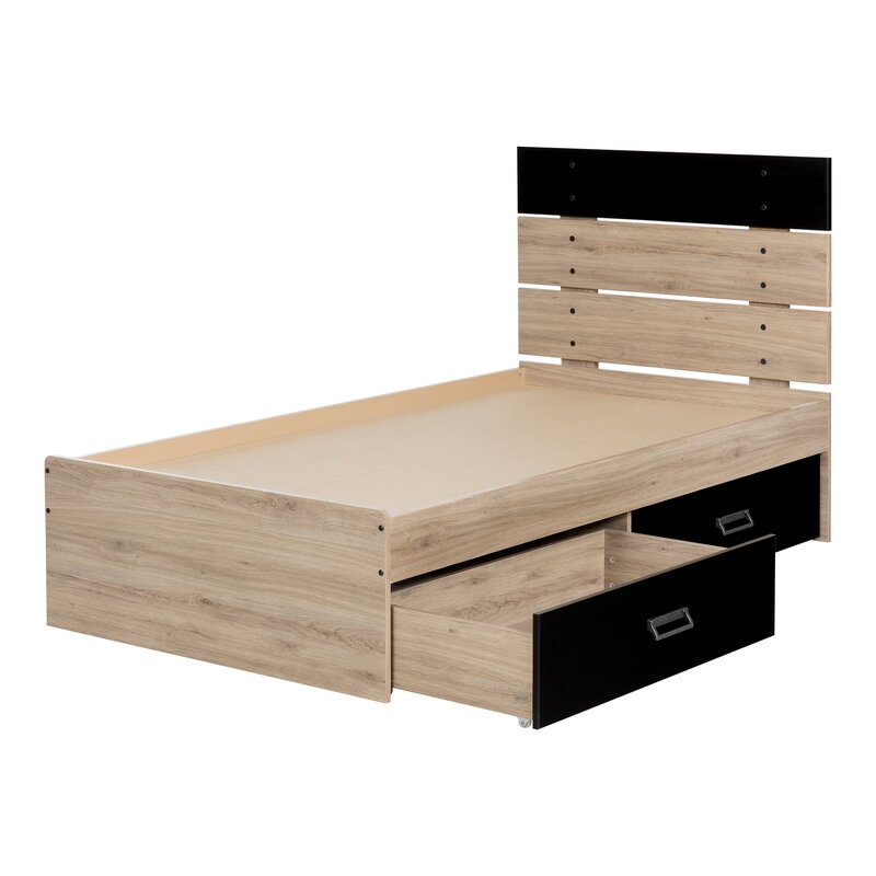 Beau Induzy Platform Bed With Drawers