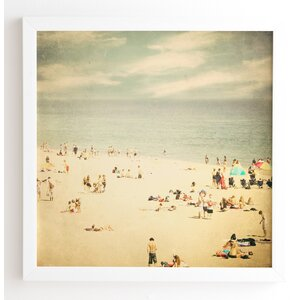 Vintage Beach Framed Photographic Print