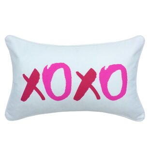 xoxo furniture hust valentines day xoxo indooroutdoor lumbar pillow wayfair