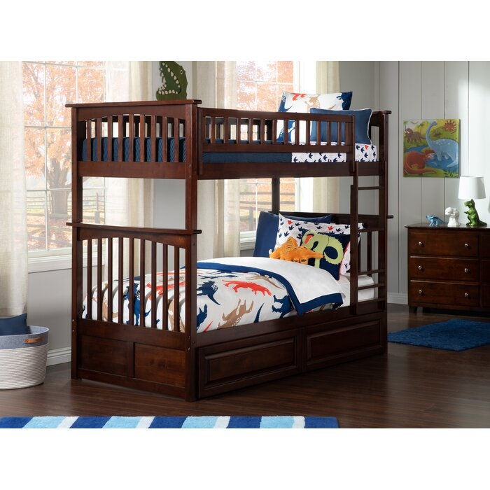 Henry Bunk Bed With Storage Reviews Birch Lane