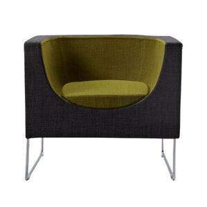 Joseph Contemporary Barrel Chair by Wade Logan