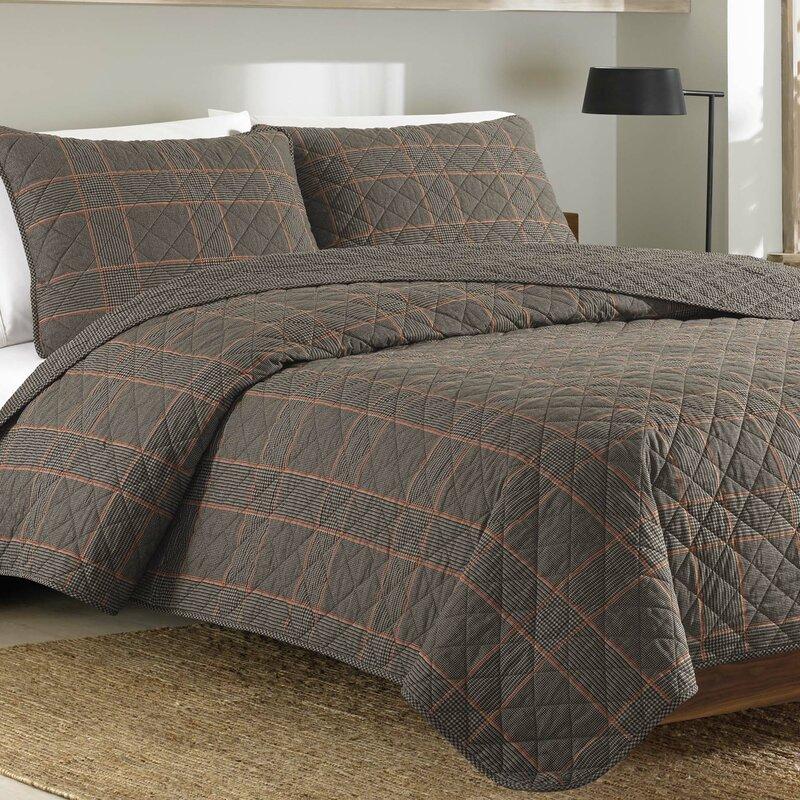 Eddie Bauer Bedding Freestone Reversible Quilt Set