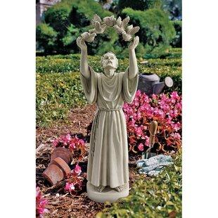 St. Francisu0027s Doves Of Peace Garden Statue
