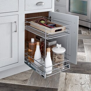 Pull Out Cabinet Organizers You'll | Wayfair Pull Out Racks For Kitchen Cabinets on pull out racks for closets, pull out racks for wardrobe, pull out racks for garage cabinets,