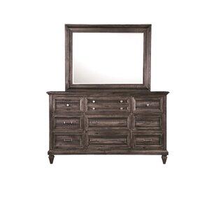 Delpha 9 Drawer Dresser wi..