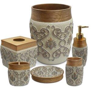 Savoy 6 Piece Bath Accessory SetBath Accessory Sets You ll Love. Rhinestone Bathroom Accessories. Home Design Ideas