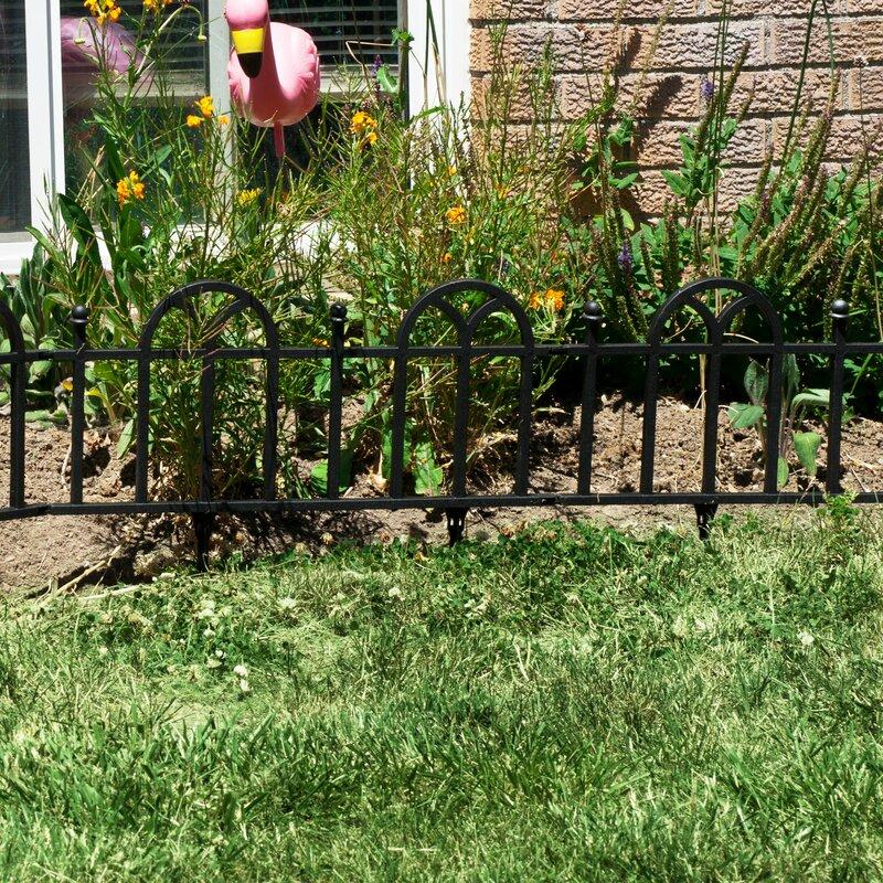 Perfect Victorian Garden Border Fencing