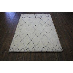Affordable Price Felisha White Area Rug ByWrought Studio