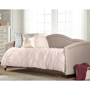 Delmer Upholstered Daybed by Willa Arl..
