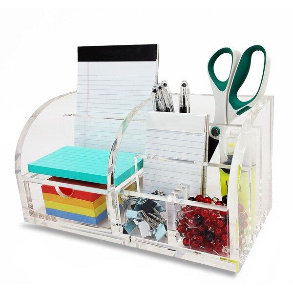 Delightful Vandue Corporation OnDisplay Sterling Deluxe Acrylic Desktop Organizer |  Wayfair