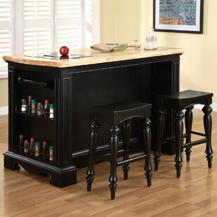 Burkhart Kitchen Island Set