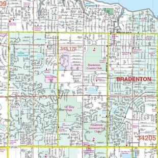 Detroit 48 x 36 Paper Wall Map Michigan ZIP Codes ...