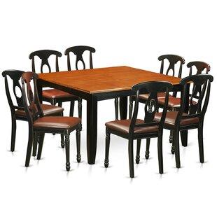 Pilning Modern 9 Piece Wood Dining Set