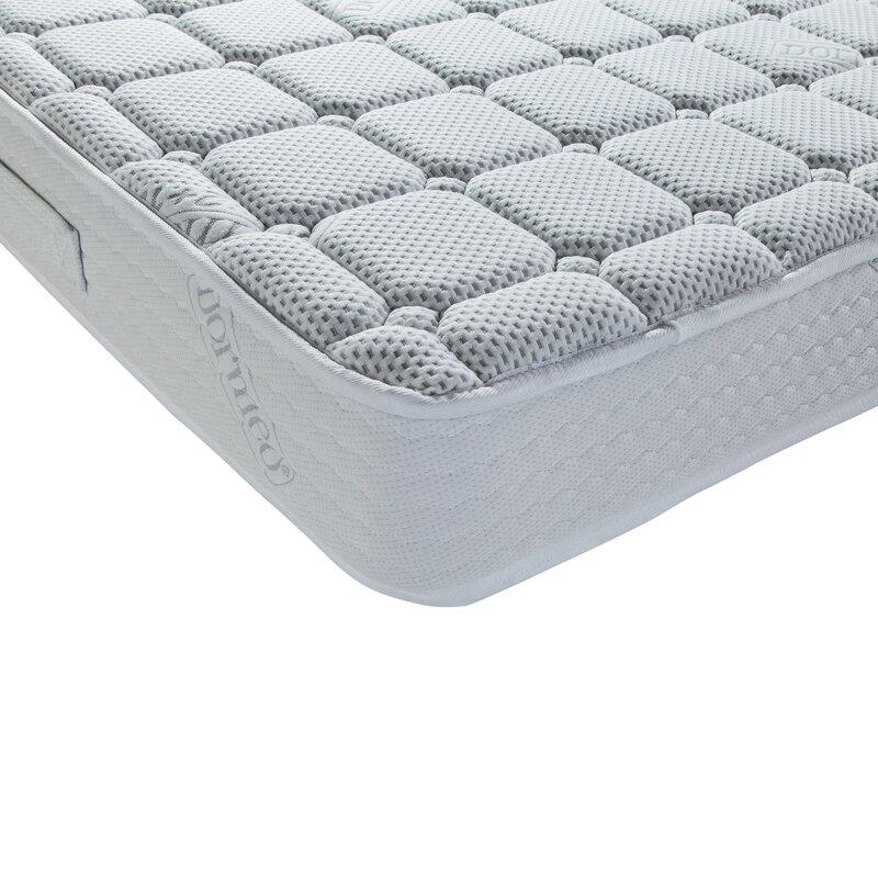 dormeo fresh plus memory foam mattress reviews wayfair. Black Bedroom Furniture Sets. Home Design Ideas