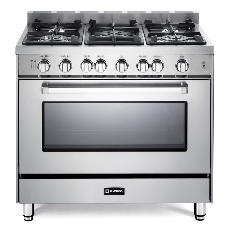 Verona 36 Free Standing Gas Range Reviews