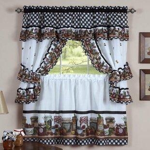 Chicken Kitchen Curtains   Wayfair