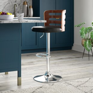 Eita Adjustable Height Swivel Bar Stool