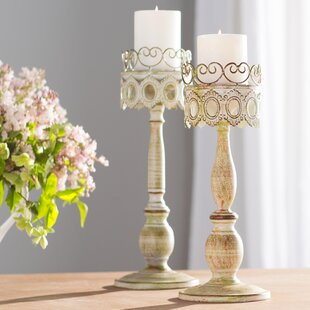 Clemence Candleholders Set Of 2
