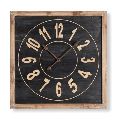 Oversized Square Wall Clocks You Ll Love Wayfair