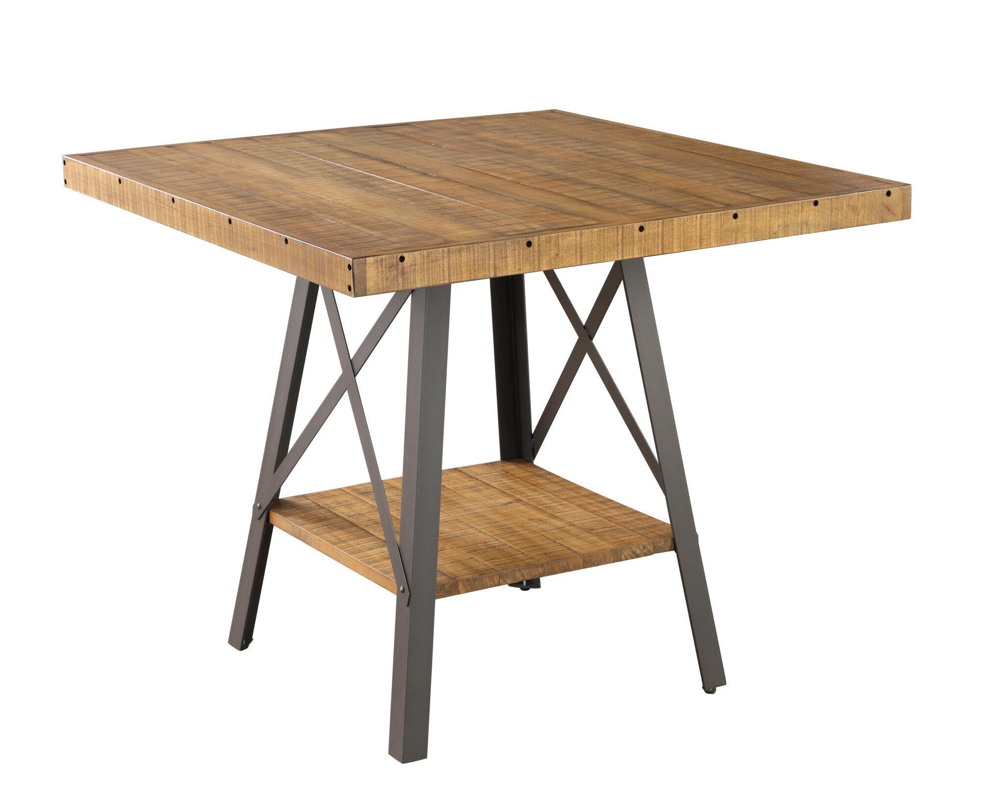 Trent Austin Design Laguna Reclaimed Counter Height Dining Table - Reclaimed wood counter height dining table