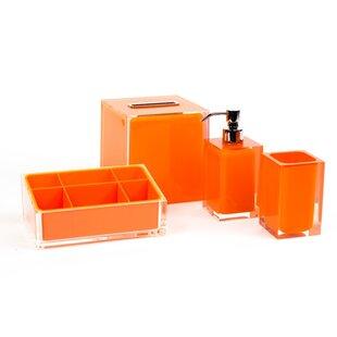 Tous les accessoires de salle de bain: Finition - Orange | Wayfair.ca